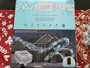 Gemmy Orchestra Of Lights Holiday Light Show Music Box With Speaker 1290087
