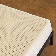 Natural Latex Mattress Topper Soft Supportive Back Support Ventilated Breathable