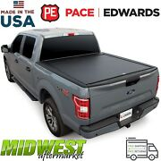 Pace Edwards Matte Black Bedlocker Bed Cover Fits 2019 Ram 1500 5and0397 W/ Rambox