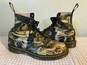 Rare Dr Doc Martens Pascal Hell Boots Hieronymus Size Us 13