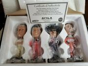 The Petty Champions Gallery 4 Bobblehead Set Nascar - 'd To 5,000 Richard Kyle