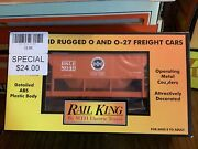 Mth Rail King 30-75262 Bessemer And Lake Erie Ore Car W/load Hard To Find