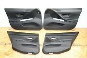 Front And Rear All 4 Interior Door Panels Inner Cover Oem Bmw F06 Merino Leather
