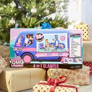 Lol Surprise 4-in-1 Glamper Fashion Camper With 55+ Surprises, Gift For Ages 6+