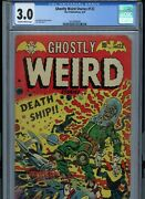 Ghostly Weird Stories 122 Cgc 3.0 Shop With The Oland039 Buzzards And Save