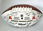 2012 Hawaii Pro Bowl Official Nfl Wilson The Duke Football Signed Autograph Afc