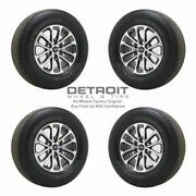 18 Ford F150 Machined Grey Wheels Rims And Tires Oem Set 4 2018-2020 10169