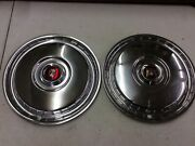 """1955 56 57 Two Ford Hubcaps 15""""new.sr8"""