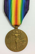 Czechoslovakia Ww1 Interallied Victory Medal Official Issue Type Ii Rare