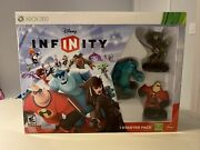 New Disney Infinity Starter Pack Xbox 360 Sulley Mr Incredible Capt Jack Sparrow