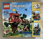 Lego Creator Treehouse Adventures 31053 New In Factory Sealed Box Retired
