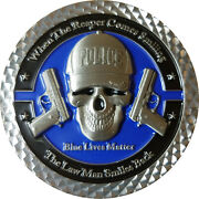 6 Coins Police Blue Lives Matter Challenge Coin Thank Law Enforcement 13