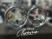 Gsxr Stock Size Chrome All Star Wheels 01-05 Suzuki Gsxr 600 750