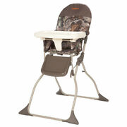 Cosco Simple Fold High Chair, Sets Up In Seconds, Easy To Clean And Pack Away,
