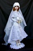 Tonner 16 Monica Merrill Ooak Bride 1920's Repaint And Costume By Kathleen Hill