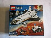 60226 Lego City Mars Research Space Shuttle 273 Pcs Factory Sealed New In Box