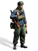 German Paratrooper With Rifle, 1940 Painted Figure Toy Miniature Pre-sale | Art