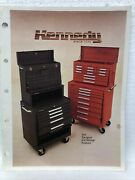 Vintage Tool Catalog Kennedy Carts Storage Box Transport Cart Cabinets Chest 80s