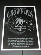 Chris Robinson Autographed As The Crow Flies Vip Tour Poster Hand Signed
