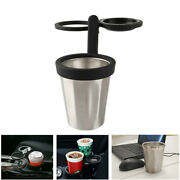 3 Hole Stainless Steel Insulation Car Cup Holder For Drink Water Bottle Beverage