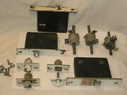 Antique Door Hardware Parts Lot Lock Latch Latches Catch Spindle Spindles ++