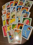 New 64 Laminated Loteria Cards Images Chancla Trompo Molcajete Taco Elote Chile