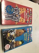 New Sealed Lot Of 2 Bananas In Pajamas Show Business Vhs Tape Rare Childrenandrsquos Tv