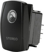 Stereo Accessory Switch Fcs. Sc1-amb-a32 Amber Lighted Spst Rocker