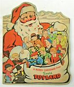 1939 A Merry Christmas From Sears Toyland Comic Book Promotional Higher Grade