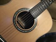 Musical Instrument Custom Om Size Handcrafted Acoustic Guitar Tonewood
