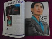George Takei Autographed - Star Trek Iv The Voyage Home - 8 Poster Magazine