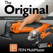 Fein Multimaster Starlockplus Oscillating Multi-tool With Snap-fit Accessory...