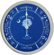 9 1/2 Wh. Palmetto Tide Clock By West And Co.