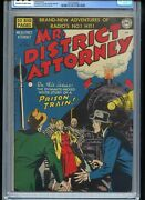Mr. District Attorney 15 Cgc 9.4 Owtw Beauty 1950 Tied For Highest Grade