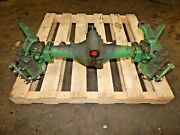 John Deere 650 Tractor- 4wd Front Axle Assembly