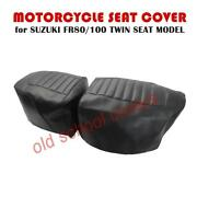 Motorcycle Seat Cover Suzuki Fr80 Fr100 Twin Seat Model