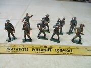 Vtg Lot Marx Warriors Of The World Wow Civil War 60mm Figures Soldiers Plastic 1
