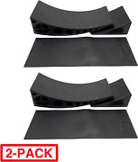 Beech Lane Camper Leveler Two Curved Two Chocks And Two Rubber Grip Mat 2pck