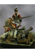 British Soldiers At Siege Of Badajoz Tin Painted Toy Soldier Pre-sale | Art