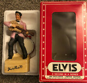 Elvis M, Music Box, Unsealed, 2nd Series 1977 Limited Edition Collectibles