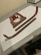 Chevy 1958 Impala Convertible Rear Seat Speaker Housing And Trim Moldings Lh1221