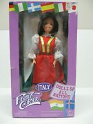 1995 Fashion Corner Dolls Of All Nations Italy 11-1/2 Figure