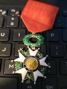 Legion Of Honour In Case Dated 1870 Museum Quality Looks Great Please Look