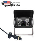 Hd 1/3 Sony Ccd Rear View Backup Camera Waterproof Ir Night Vision For Truck Rv