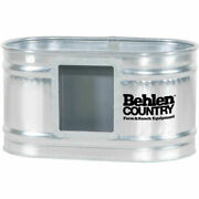 New Behlen Country Galvanized Hog Waterer 2and039x2and039x4and039
