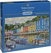 New Gibsons Jigsaw Puzzle Game 1000 Pieces Tiles Tobermory