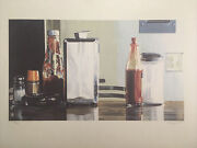Ralph Goins Original American Diner 1984 Lithograph Signed And Numbered