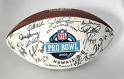 2008 Hawaii Pro Bowl Official Nfl Wilson The Duke Football Signed Autograph Afc