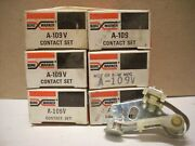 Nos Borg-warner Contact Points Set A109v New In Original Package 6-pcs