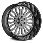 20 Xf Flow Forged Xfx-305 Gloss Black Brushed Wheels Qty 4